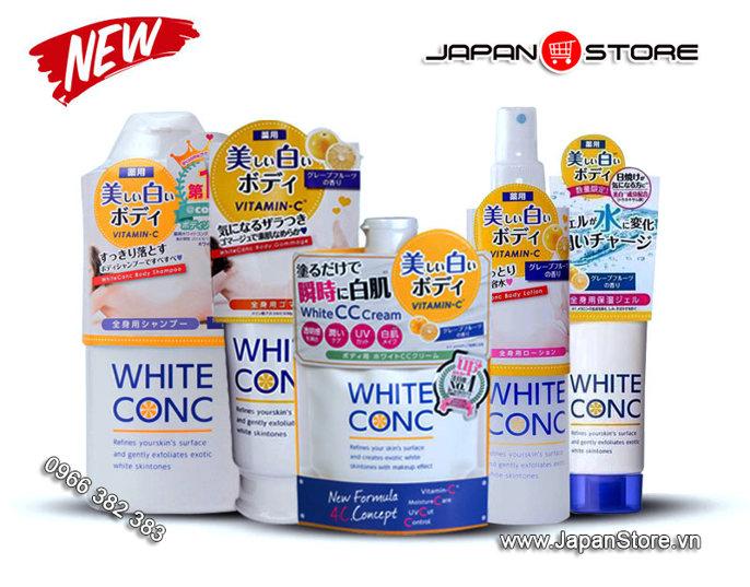 Bộ tắm trắng White Conc Nhật Bản 3