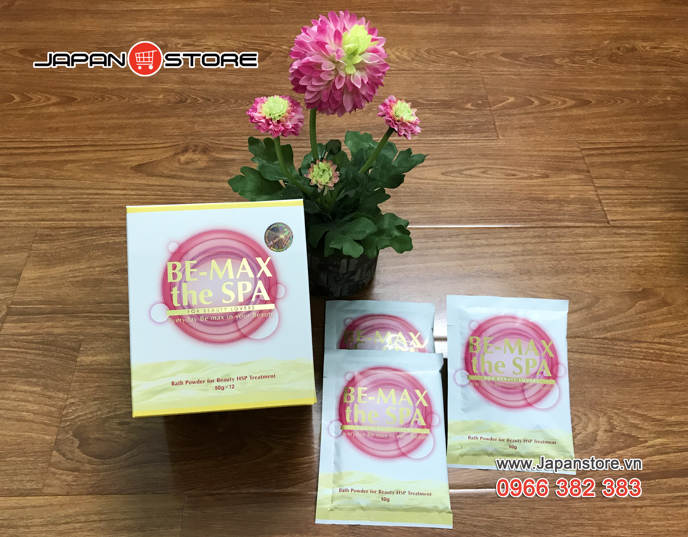 Bột tắm trắng Be Max the Spa for Beauty Lovers 2019 hộp 12 gói -1