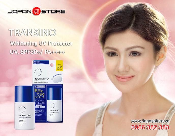 Banner Transino Whitening UV Protector SPF50+ PA++++