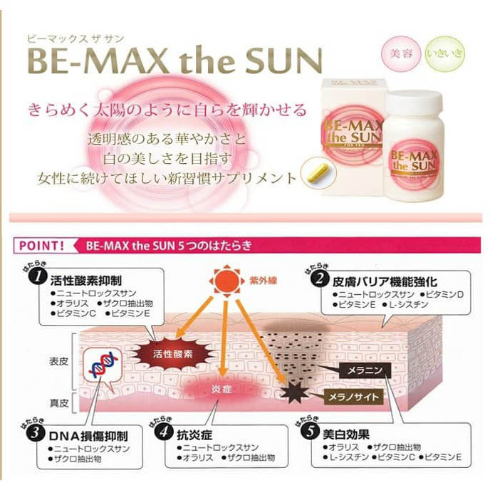 Be-Max the Sun 2019-6