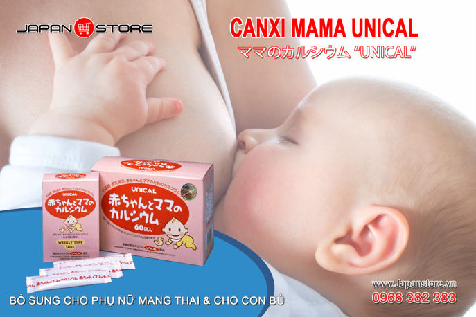Canxi Unical Mama Nhật Bản ママのカルシウム 05