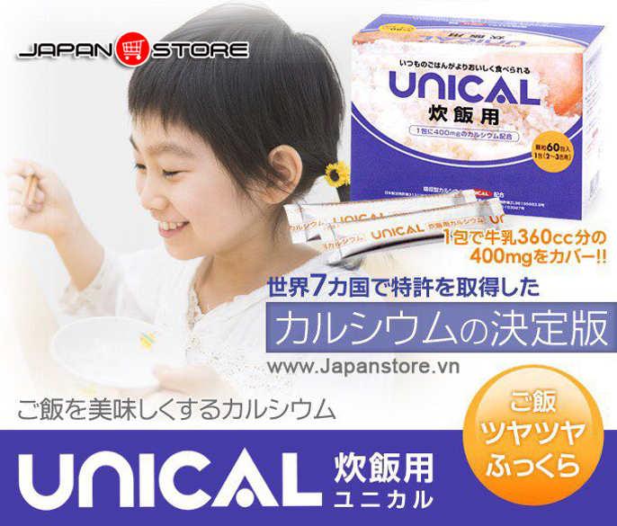 Canxi Unical Nhật Bản 2