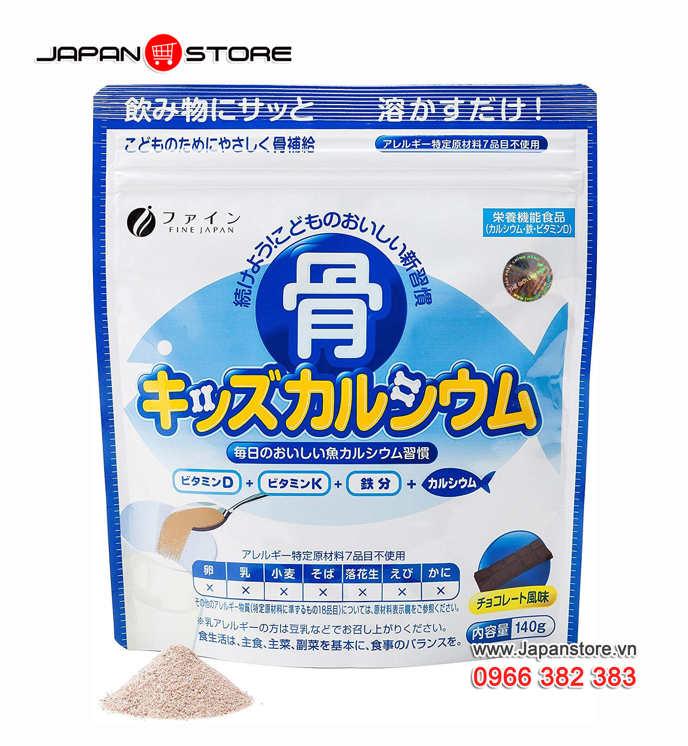 Canxi cá tuyết Nhật Bản Bone Kids Canxi Fine, Japan 02