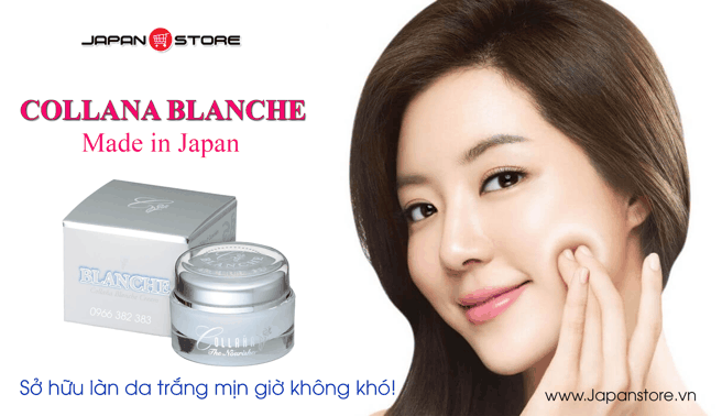 Collana Blanche Cream-Kem trang da, tri nam, chong nang 2