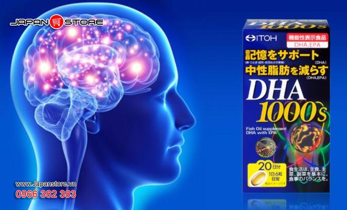 DHA 1000s-Viên uống bổ não DHA 1000s ITOH Nhật Bản 6
