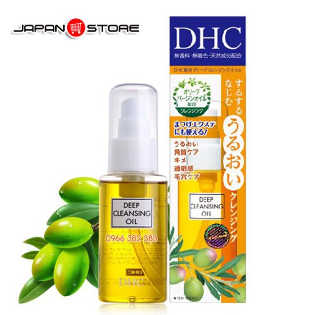 Dau tay trang DHC Deep Cleansing Oil 6-01