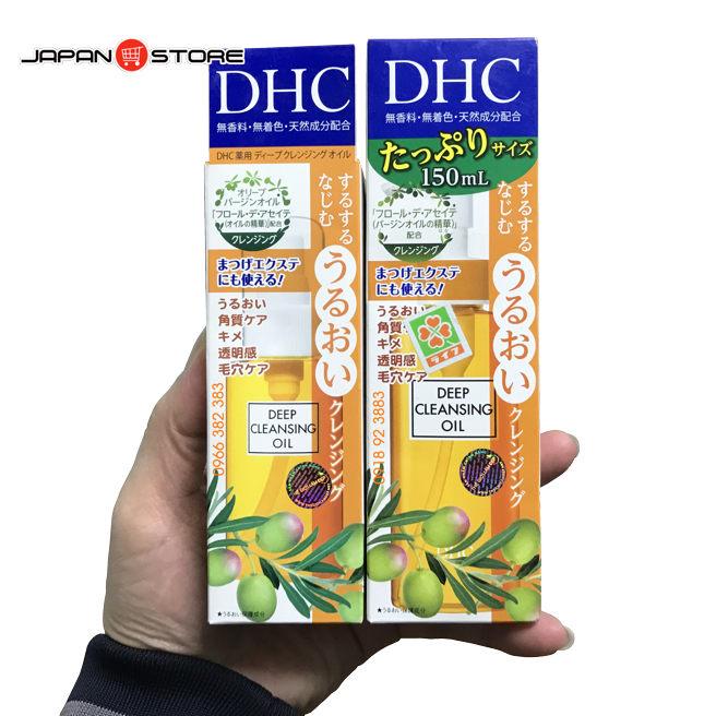 Dau tay trang DHC Deep Cleansing Oil 6-02
