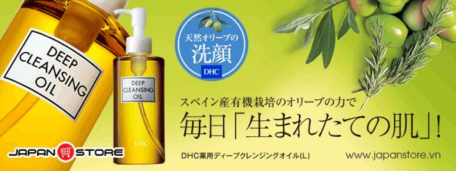 Dau tay trang DHL Deep Cleansing Oil 1