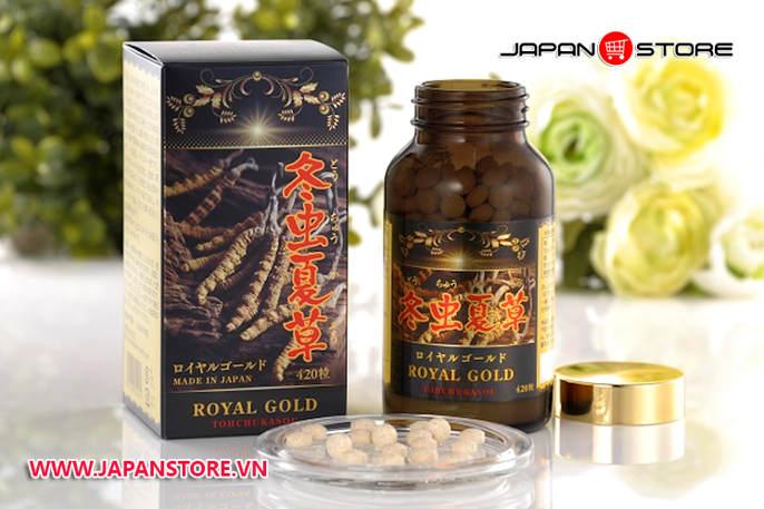 Dong trung ha thao Royal Gold Tohchukasou 420 vien 1