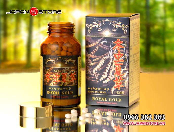Dong trung ha thao Royal Gold Tohchukasou 420 vien 2