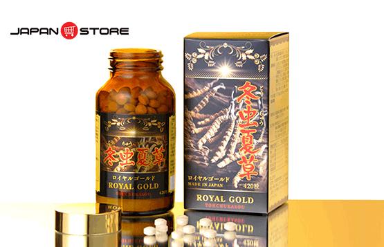 Dong trung ha thao Royal Gold Tohchukasou 420 vien