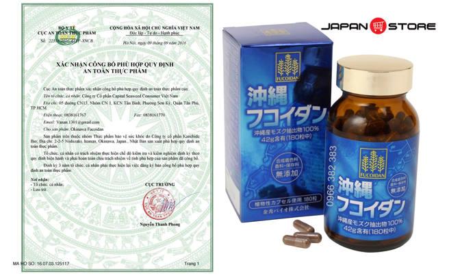 Fucoidan Okinawa Fucoidan Nhat Ban 2