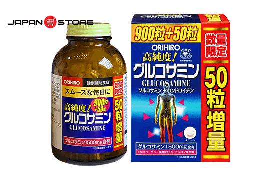 Glucosamin Orihiro 1500mg 900 viên Nhật Bản hỗ trợ điều trị xương khớp 01