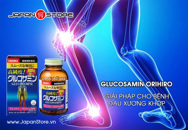 Glucosamin Orihiro 1500mg 900 viên Nhật Bản hỗ trợ điều trị xương khớp 2
