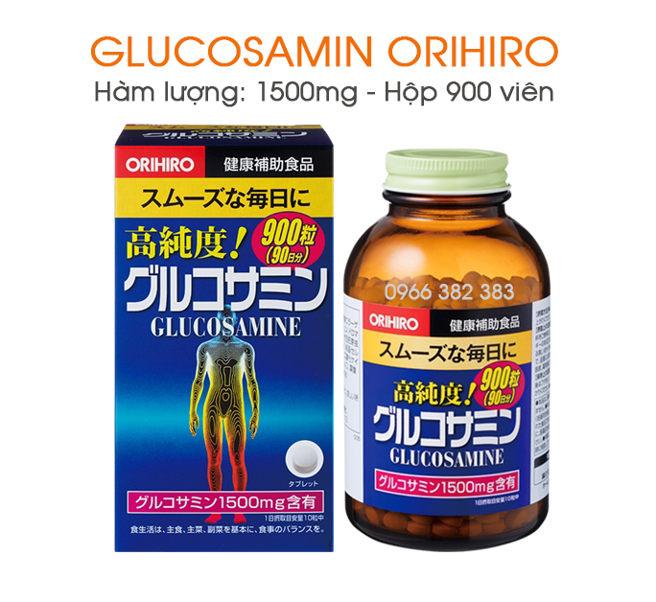 Glucosamin Orihiro 1500mg 900 viên Nhật Bản hỗ trợ điều trị xương khớp 3