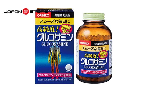 Glucosamin Orihiro 1500mg 900 viên Nhật Bản hỗ trợ điều trị xương khớp