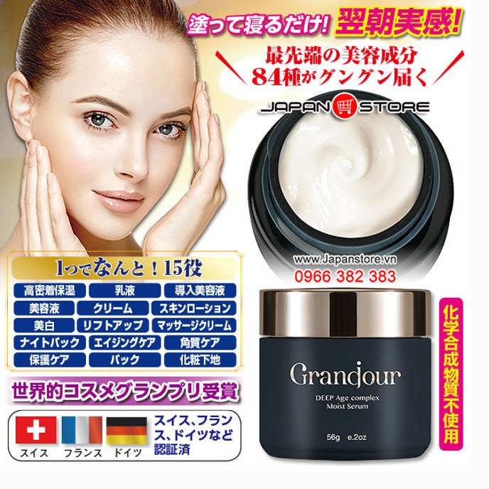 Grandjour DEEP Age Complex Moist Serum - Serum chống lão hóa Grandour 5