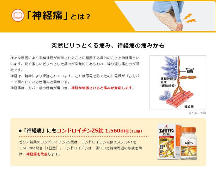 Japanstore,vn -Thuốc xương khớp Người Nhện ZS Nhật Bản Chondroitin ZS 1560mg 14