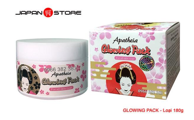 Kem ủ trắng da Apatheia Glowing Pack 180g .02