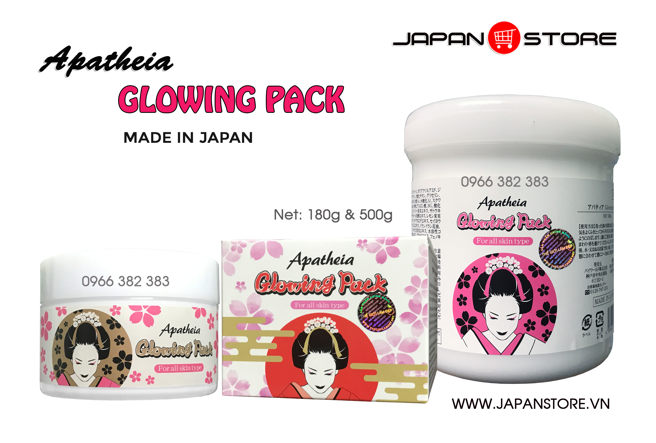 Kem ủ trắng da Apatheia Glowing Pack 180g -3