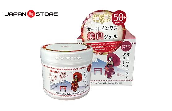 Kem ủ trắng da HASUKO - Hiệu Cô Gái Nhật Bản 280g-01