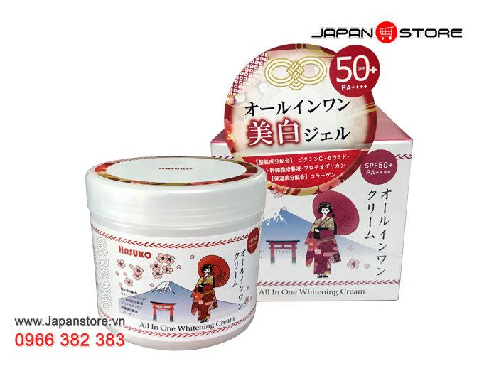 Kem ủ trắng da HASUKO - Hiệu Cô Gái Nhật Bản 280g -1