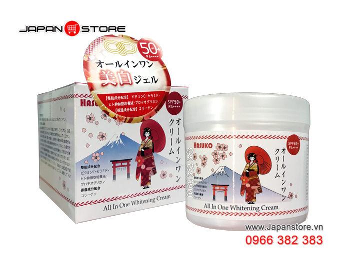 Kem ủ trắng da HASUKO - Hiệu Cô Gái Nhật Bản 280g-3