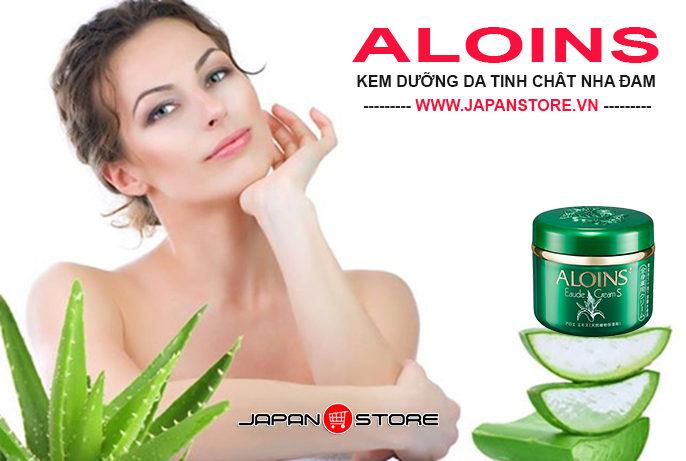 Kem dưỡng da Aloins tinh chất lô hội (nha đam) Nhật Bản 185g -1