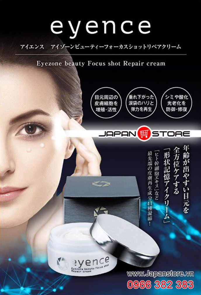 Kem dưỡng da vùng mắt Eyence - Eyezone beauty Focus shot Repair cream 4