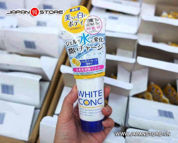Kem dưỡng trắng da ban đêm White Conc Watery Cream 90g 5