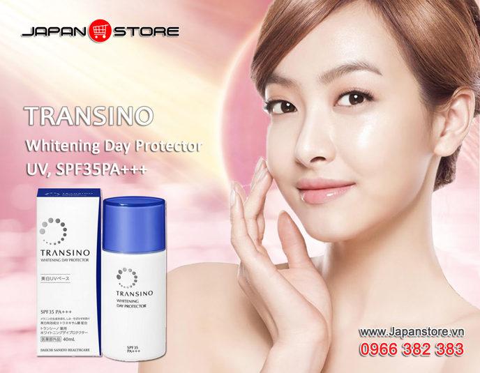 Kem trắng da ban ngày kiêm chống nắng TRANSINO Whitening Day Protector 40ml -3