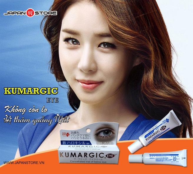 Kem tri tham quang mat Kumargic Eye-3