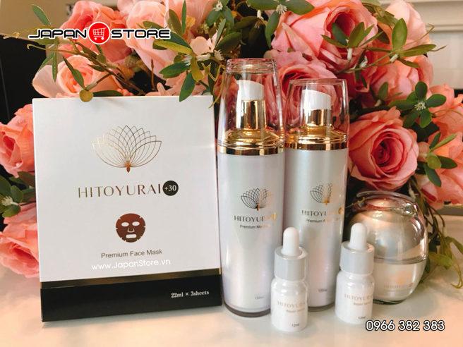 Mỹ phẩm tế bào gốc Hitoyurai +30 Nhật Bản-003