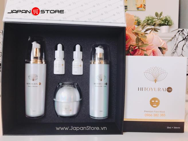 Mỹ phẩm tế bào gốc Hitoyurai +30 Nhật Bản-004