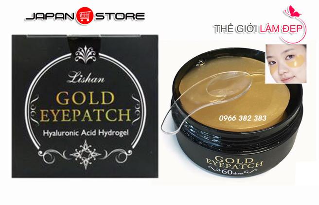 Mat na dap mat vang Gold Eyepatch 60 mieng 6