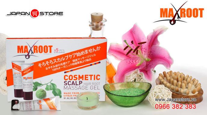 Maxroot Gel mọc tóc Maxroot Nhật Bản 5