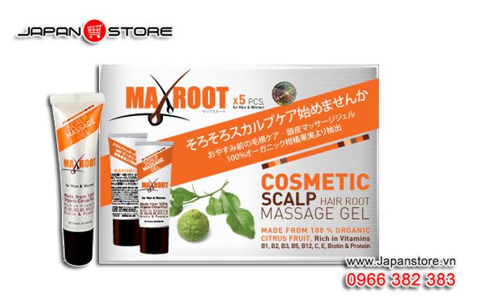 Maxroot Gel mọc tóc Maxroot Nhật Bản 6