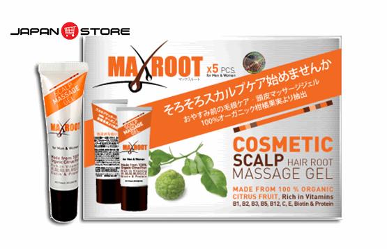 Maxroot Gel mọc tóc Maxroot Nhật Bản 8