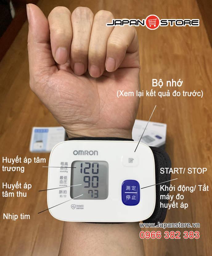 May do huyet ap co tay Omron HEM 6161_ Japan Store 1