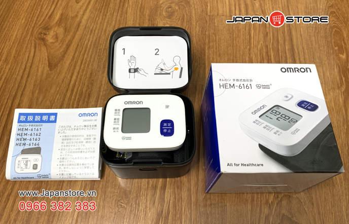 May do huyet ap co tay Omron HEM 6161_ Japan Store 2-2
