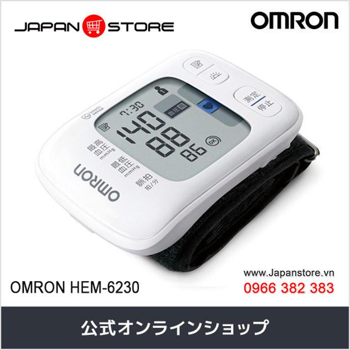 May do huyet ap co tay Omron HEM 6230 Noi dia nhat_Japanstore_vn 05