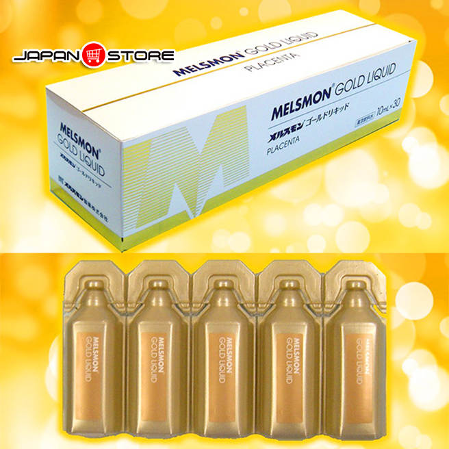 Melsmon Gold Liquid - Nuoc uong nhau thai Melsmon Gold Liquid 4