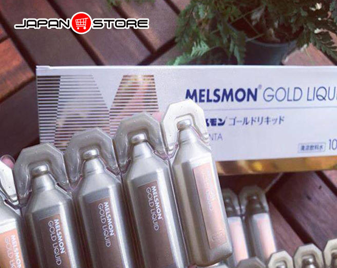 Melsmon Gold Liquid - Nuoc uong nhau thai Melsmon Gold Liquid 5