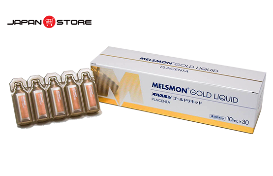 Melsmon Gold Liquid - Nuoc uong nhau thai Melsmon Gold Liquid