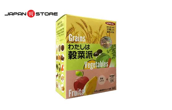 Ngũ cốc dinh dưỡng Unical Grains Vegetables Fruits Nhật Bản - Japanstore.vn _1