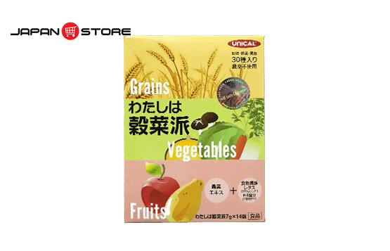 Ngũ cốc dinh dưỡng Unical Grains Vegetables Fruits Nhật Bản - Japanstore.vn _3
