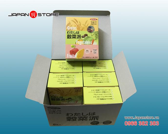 Ngũ cốc dinh dưỡng Unical Grains Vegetables Fruits Nhật Bản - Japanstore.vn _5