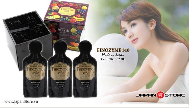 Nuoc uong dep da & giam beo Finozyme 310 Dr Select Nhat Ban 2