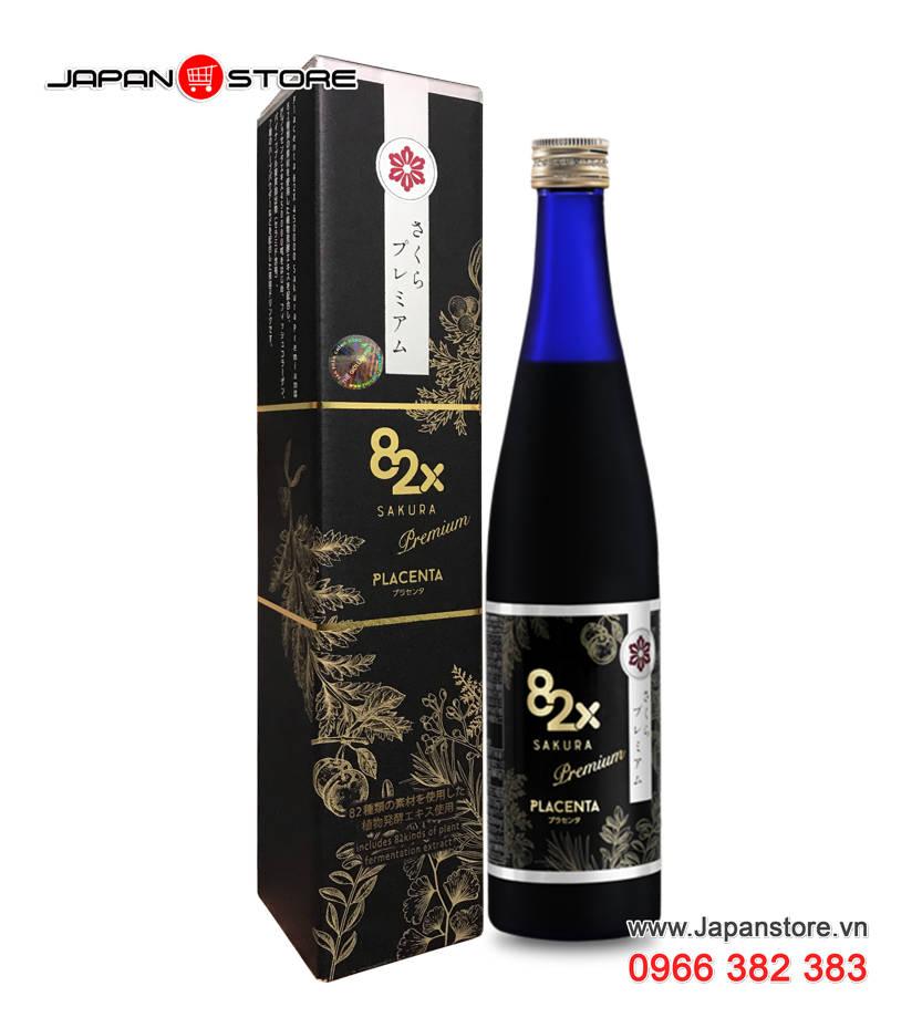 Placenta 82x Sakura Premium 450000mg 2
