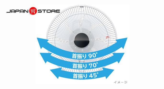 Quạt điện Hitachi HEF-130R (có điều khiển) Nhật nội địa 5